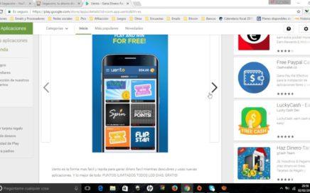 Ganar dinero paypal con el móvil Enero 2017| Pago de 5$ por Paypal de Uento. Capítulo 487