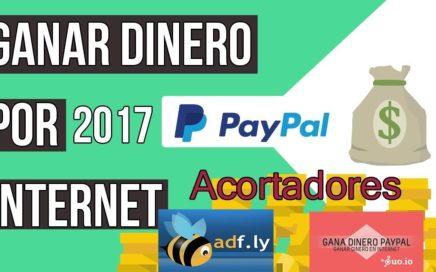 Ganar dinero por internet [Rápido y Seguro] mediante acortadores [2017]