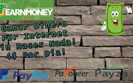 ¡GANAR DINERO SIN HACER NADA!/1$ a 4$ POR DIA (EarnMoneyNetwork)