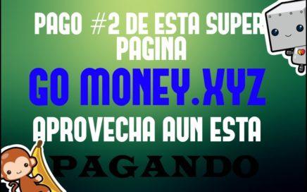 GO MONEY.XYZ - PAGO #2 - DIRECTO A PAYEER - APROVECHA