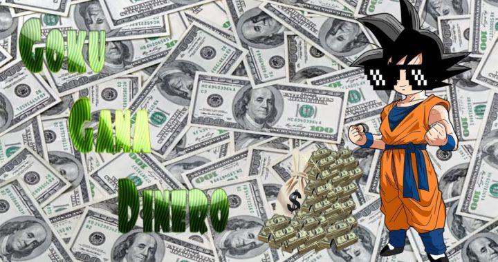 Goku gana dinero