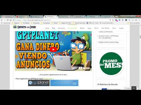 GPTPlanet Gana Dinero para Paypal
