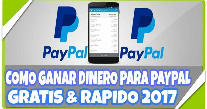 GRATIS DINERO PAYPAL HACK!! [2017] DINERO GRATIS PARA TU CUENTA DE PAYPAL!! MAKE MONEY HACK [2017]