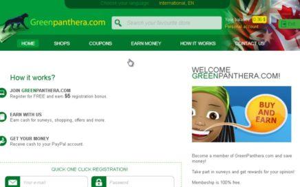 GreenPanthera | ¡Pago De $30.60 Dolares! | Gana Dinero Con Encuestas Por Internet Para Paypal.