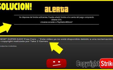 GTA 5 1.42 | !NO DISPONES DE FONDOS SUFICIENTES! *SOLUCION* TRUCOS DINERO INFINITO ROCKSTAR ACTUA!?