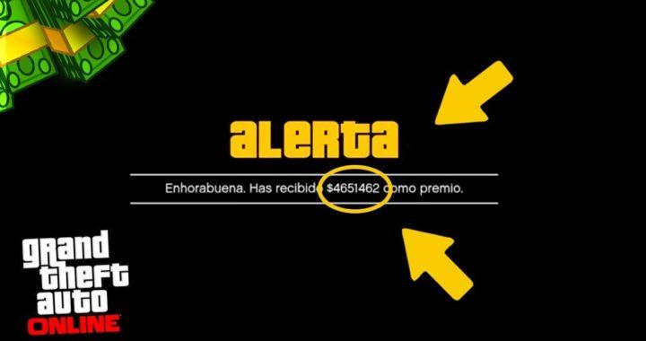 *GTA 5 ONLINE 1.42* COMO CONSEGUIR 500.000$ EN 5 MINUTOS! - COMO HACER QUE ROCKSTAR TE REGALE DINERO