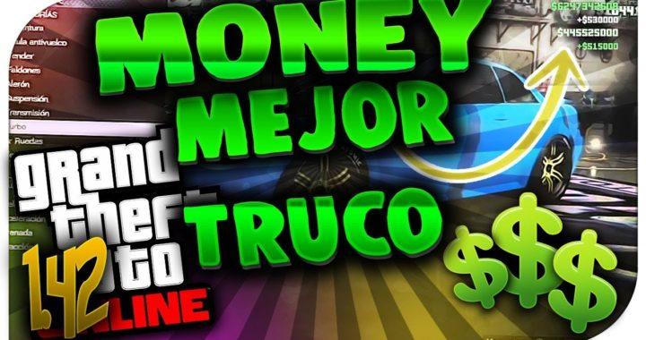 GTA 5 Online 1.42 MEJOR TRUCO *SIN AYUDA*MONEY GLITCH UNLIMITED - TRUCO DINERO INFINITO GTA 5 1.42