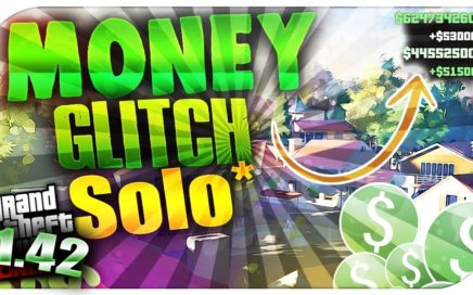 GTA 5 ONLINE 1.42/Ps4 MEJOR TRUCO DINERO INFINITO!  Ps4 Glitch money unlimited  - SOLO SIN AYUDA
