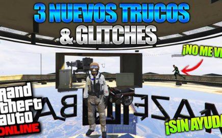 GTA 5 Online - 3 NUEVO TRUCOS & GLITCHES 1.41! (Misiles Infinitos, Clima Especial & Mas!)