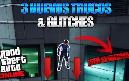 GTA 5 Online - 3 NUEVO TRUCOS & GLITCHES 1.41! (Pistola Electrica, Todas Las Armas Gratis & Mas!)