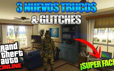 GTA 5 Online - 3 NUEVO TRUCOS & GLITCHES 1.41! (Ser Inmortal y Disparar, Traje Especial & Mas!)