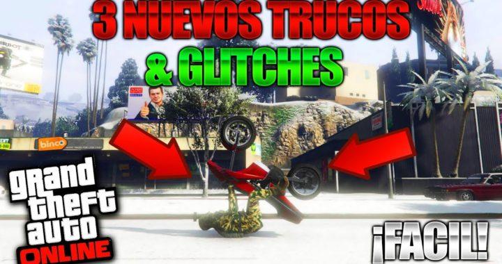 GTA 5 Online - 3 NUEVO TRUCOS & GLITCHES 1.42! (No Caerse de la Opressor, Debajo Del Mapa & Mas!)