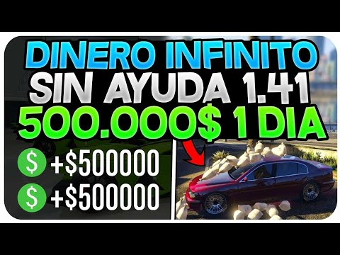 GTA V ONLINE | COMO CONSEGUIR 500.000$ *SOLO* SIN AYUDA LEGALMENTE 1.27/1.42