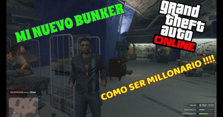 GTA V ONLINE [NUESTRO NUEVO BUNKER] [CLUB DE MOTEROS] COMO GANAR DINERO FÁCIL.