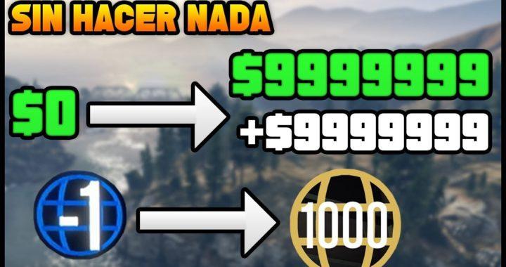 Hazte Rico y Se Nivel 1000 Sin Hacer Nada en GTA 5 Online! (GTA 5 ONLINE TRUCO DINERO)