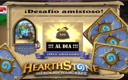 HEARTHSTONE | Como GANAR 4 Sobres, Avatar y MUCHO ORO !!! GRATIS !!!!! MegaTruco