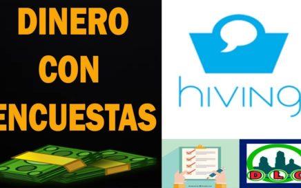 Hiving | Gana Dinero Gratis Por Encuestas.