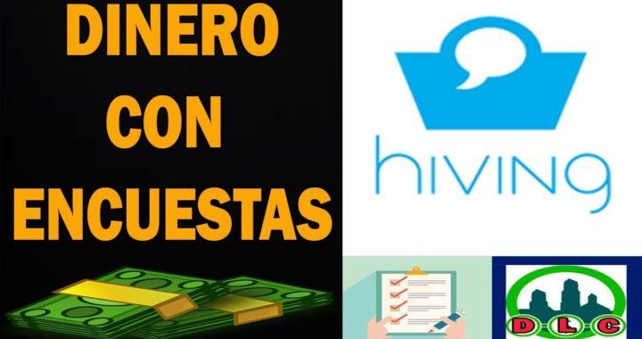 Hiving   Gana Dinero Gratis Por Encuestas.