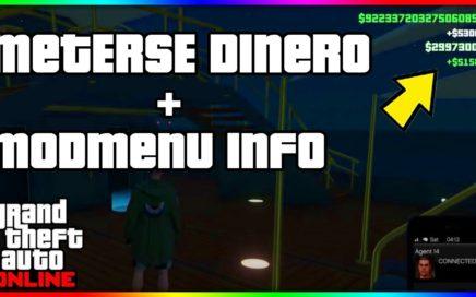 *IMPORTANTE* NUEVO PROGRAMA PARA METERSE DINERO EN GTA ONLINE + MOD MENU PS4 INFO!!