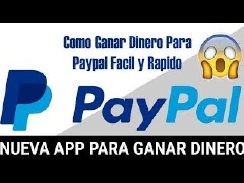 ¡¡INCREIBLE APLICACIÓN!!!! ANDROID  gana dinero para paypal/2017