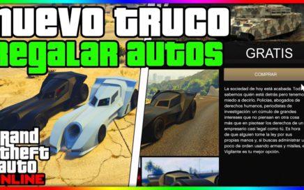 INCREIBLE!! CONSEGUIR CUALQUIER AUTO GRATIS *FACIL Y RAPIDO* GTA V ONLINE 1.41