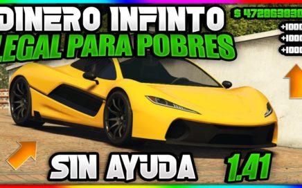 !! INCREIBLE !! DINERO INFINITO FACIL Y SIN AYUDA PARA POBRES [GTA V ONLINE] 1.41