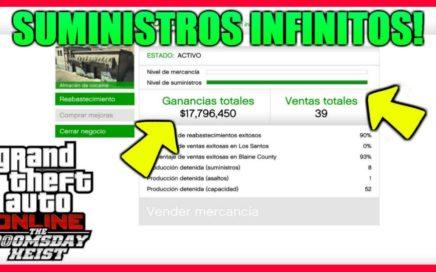 *INCREÍBLE* DINERO INFINITO SIN AYUDA PARA POBRES 1.42 [SUMINISTROS INFINITOS] | GTA 5 ONLINE