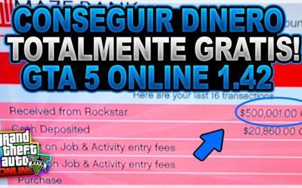 INCREIBLE!! *GTA 5 ONLINE 1.42* COMO CONSEGUIR QUE ROCKSTAR TE REGALE MILLONES EN GTA 5 ONLINE!