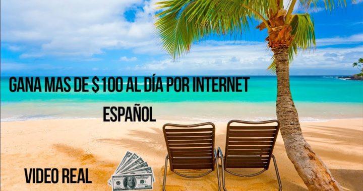 INCREÍBLE NEGOCIO! POR PAYPAL - Cómo GANAR mas de $100 dolares en un día por INTERNET