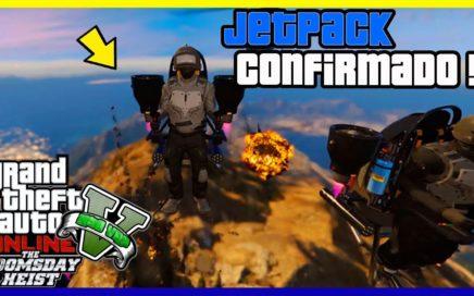 """INCREIBLE!! NUEVO JETPACK DLC JUICIO FINAL """"GTA V ONLINE"""" ANALISIS NUEVO DLC THE DOOMSDAY HEIST"""