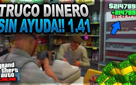 INCREIBLE!! TRUCO CONSEGUIR DINERO ILIMITADO *SIN AYUDA* MUY FACIL Y RAPIDO!! - GTA 5 ONLINE 1.41