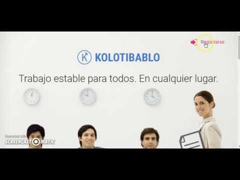 Kolotibablo Gana Dinero por complear Captchas y REcapchas