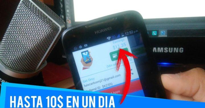 LA MEJOR APP PARA GANAR DINERO || HASTA 10$ EN UN DÍA