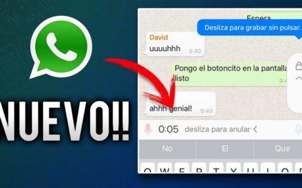 La nueva actualización de WhatsApp | YA ERA HORA!!