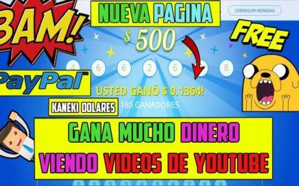 La Nueva Baymack | Gana Dinero viendo Vídeos - Hasta $500 Dolares a Paypal Gratis