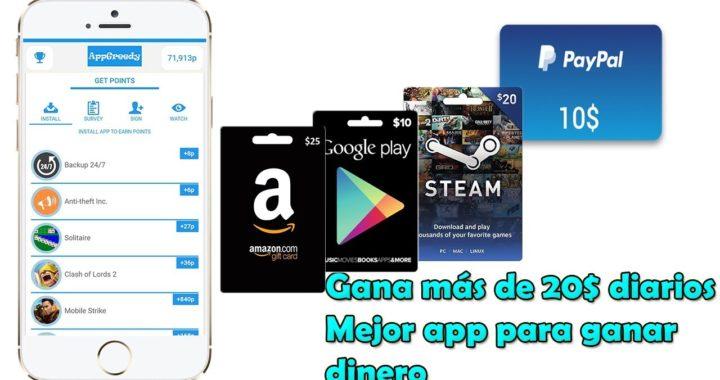 La Nueva y Mejor App Para Ganar Dinero en Android | Gana Dinero Facil | 2017/2018