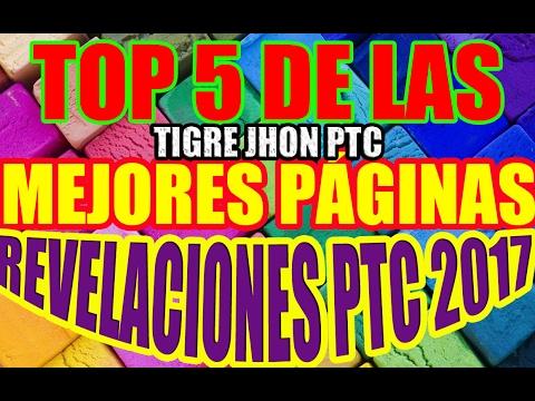 LAS MEJORES PTC DEL 2017 | 5 MEJORES PTC QUE PAGAN |  TOP 5 MEJORES NUEVAS PTC 2017 | MEJOR PTC 2017