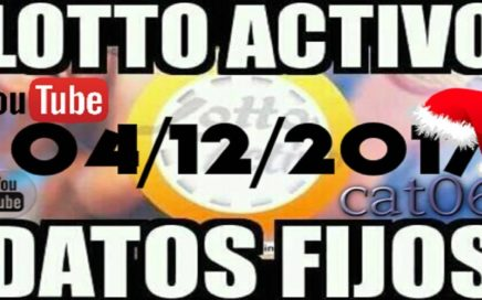 LOTTO ACTIVO DATOS FIJOS PARA GANAR  04/12/2017 cat06