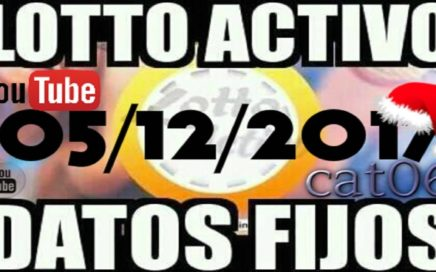 LOTTO ACTIVO DATOS FIJOS PARA GANAR  05/12/2017 cat06