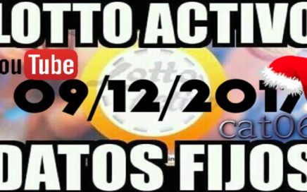 LOTTO ACTIVO DATOS FIJOS PARA GANAR  09/12/2017 cat06