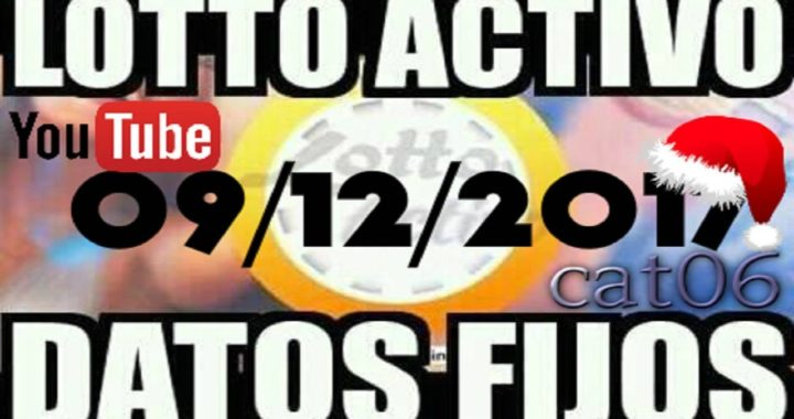 LOTTO ACTIVO DATOS FIJOS PARA GANAR  09/12/2017 cat06