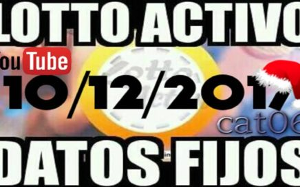 LOTTO ACTIVO DATOS FIJOS PARA GANAR  10/12/2017 cat06