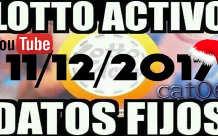 LOTTO ACTIVO DATOS FIJOS PARA GANAR  11/12/2017 cat06