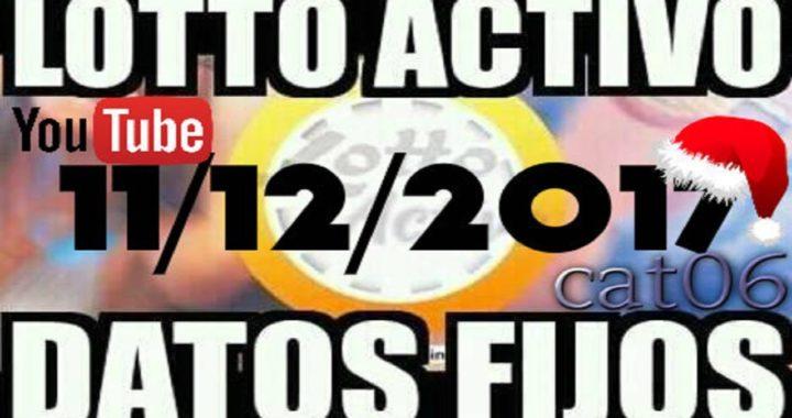 LOTTO ACTIVO DATOS FIJOS PARA GANAR  11/12/2017 cat06