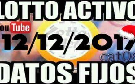 LOTTO ACTIVO DATOS FIJOS PARA GANAR  12/12/2017 cat06