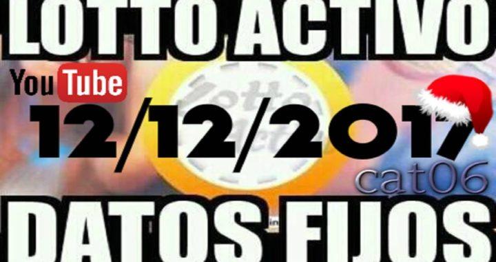 LOTTO ACTIVO DATOS FIJOS PARA GANAR  12/12/2017 cat06