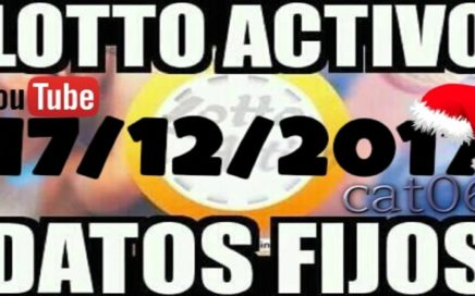 LOTTO ACTIVO DATOS FIJOS PARA GANAR  17/12/2017 cat06