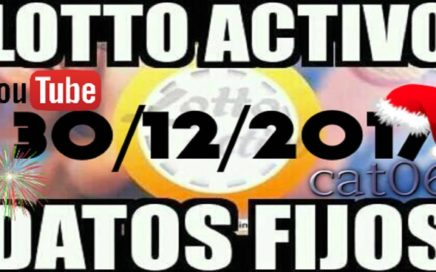 LOTTO ACTIVO DATOS FIJOS PARA GANAR  30/12/2017 cat06