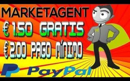 Marketagent €1.50 GRATIS por Registro Pago Mínimo €2.00 Por PayPal Como Ganar Dinero Con Encuestas
