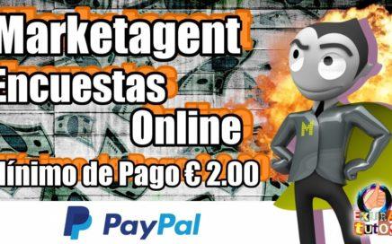 Marketagent | Portal de encuestas online | €1.50 GRATIS Por registro